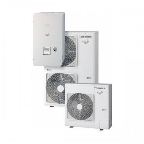 Toshiba estia powerfull HWS-P804HR-E1/HWS-P804XWHM3-E1 Αντλία θερμότητας 9.65KW 220V