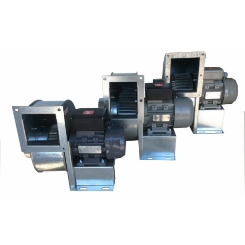 FKST/2-160/150 εξαεριστήρας μονής αναρρόφησης ισχύς 1,50HP παροχή 3500m3/h 400V