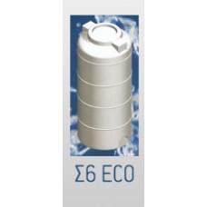 Πλαστική Δεξαμενή Πετρελαίου Νερού Κυλινδρική Κατακόρυφη 1000lt