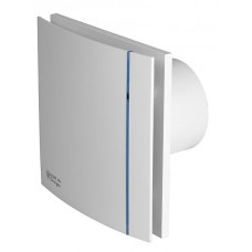 S&P SILENT DESIGN - 100CZ 3C ΛΕΥΚΟ με ντάμπερ αντεπιστροφής(πεταλούδα) Εξαεριστήρας μπάνιου
